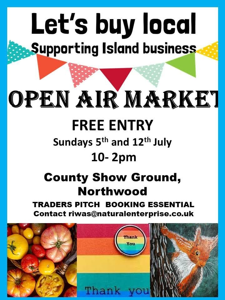 Lets buy Local July markets