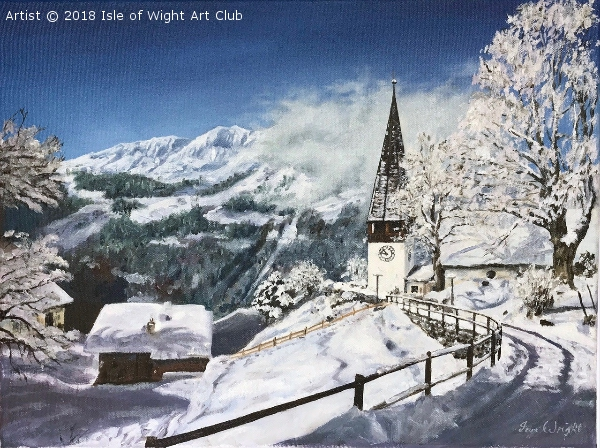 Wengen in the Snow